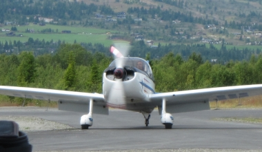 Nedre Romerike Flyklubb sin CAP 10
